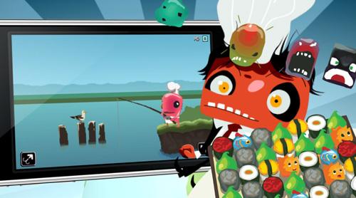 Chop Sushi Game Trailer - THQ Wireless